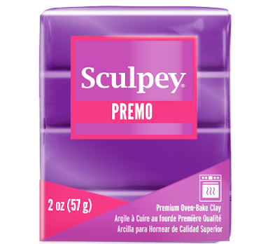 Premo Sculpey® Accents Clay Purple Pearl, 2 ounce bar, PE02 5031