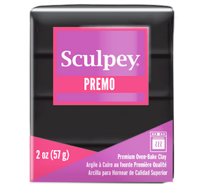 Premo Sculpey® Clay  Black, 2 oz bar, PE02 5042