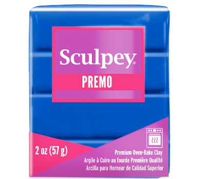 Premo Sculpey® Clay Cobalt Blue, 2 oz bar, PE02 5063