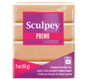 Premo Sculpey® Beige, 2 ounce bar, PE02 5092