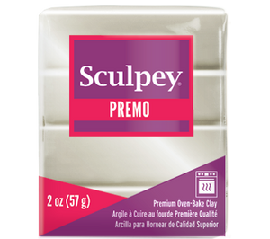 Premo Sculpey® Accents Clay Pearl, 2 ounce bar, PE02 5101