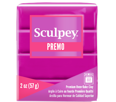 Premo Sculpey® Clay Fuchsia, 2 oz bar, PE02 5504