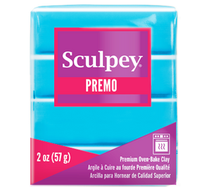 Premo Sculpey® Clay Turquoise, 2 oz bar, PE02 5505