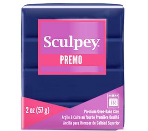Premo Sculpey® Clay Ultramarine Blue Hue, 2 oz bar, PE02 5562,