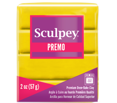 Premo Sculpey® Clay Cadminum Yellow Hue, 2 oz bar, PE02 5572
