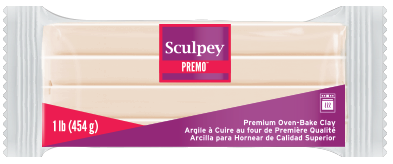 Premo Sculpey® Accents! Translucent, 1 Pound Bar, PE1 5310