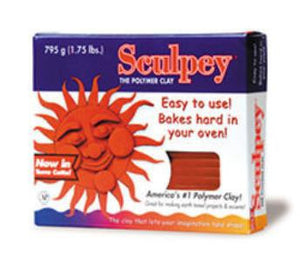 Sculpey Original Terra Cotta, 1.75 pounds #S2T
