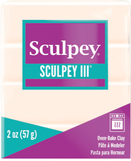 Sculpey S302 1132 Oven Bake Clay III-Jewelry Gold