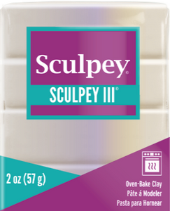 Sculpey III Polymer Clay,  Princess Pearl, 2 oz bar.  S302 530