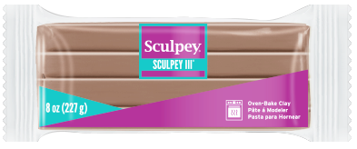 Sculpey® III, 8oz Block Hazelnut S308 1657