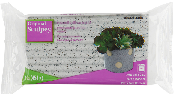 Sculpey Original Granite 1 lb S01GR