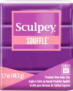 Sculpey Souffle Grape, 1.7 ounce SU 6002 New Color