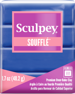 Sculpey Souffle Cornflower, 1.7 ounce SU 6005 New Color