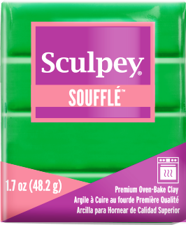 Sculpey Souffle Shamrock, 1.7 ounce SU 6007 New Color