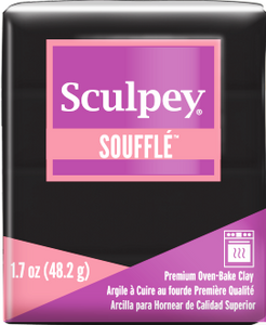 Sculpey Souffle, Color PoppySeed, 1.7 ounce SU 6042