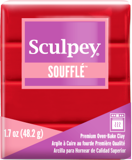 Sculpey Souffle Cherry Pie, 1.7 ounce SU 6083
