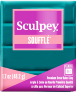 Sculpey Souffle Sea Glass, 1.7 ounce SU 6505