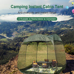 Camping Instant Cabin Tent