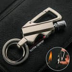 Metal Match Lighter Key Chain(Buy 2 for free shipping)