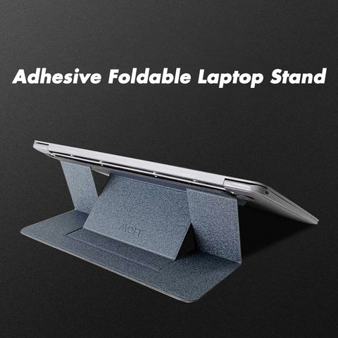 Adhesive Foldable Laptop Stand