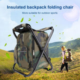 Insulated Backpack Folding Chair