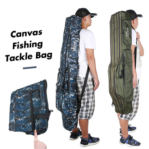 Canvas Fishing Tackle Bag