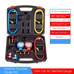 AUTO A/C Recharge Gauge Kit