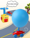 Inertial Power Balloon Car