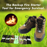 Emergency Survival Fire Starter Laces (Free Shipping for 2 sets)