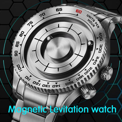 Magnetic Levitating Men Watch