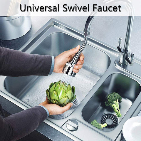 Universal Swivel Faucet
