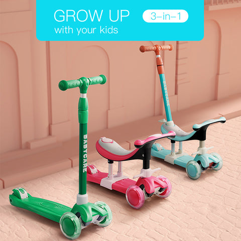 3 In 1 Kids Scooter
