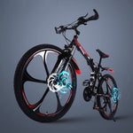 Folding Mountain Bicycle