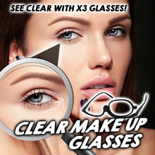 Load image into Gallery viewer, Clear Makeup Glasses - Litte Zoe Boutique