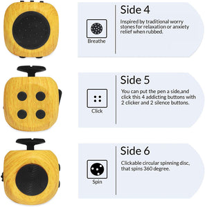 Fidget Cube Reduce Anxiety and Stress Relief Toy - Litte Zoe Boutique