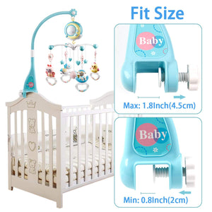 Baby Musical Crib Mobile - Litte Zoe Boutique