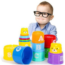 Load image into Gallery viewer, Baby Nesting Stack Cups Stack-Up Blocks - Litte Zoe Boutique
