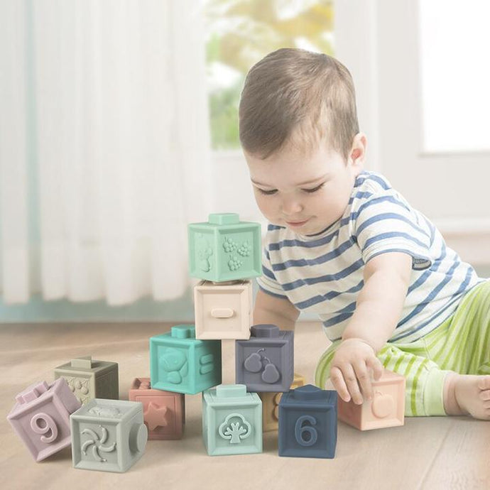 Building Blocks 3D For Babies - Litte Zoe Boutique