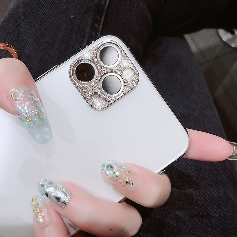 Diamond Camera Lens Protector For iPhone 11 pro\Max - Litte Zoe Boutique