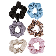 Load image into Gallery viewer, NIGHT 100% Silk Scrunchies