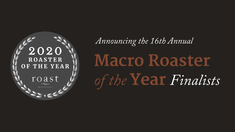 Nossa Familia Awarded Finalist for 2020 Roaster of the Year