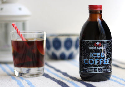 Nossa Familia Launches Bottles & Kegs of Japanese-Style Iced Coffee
