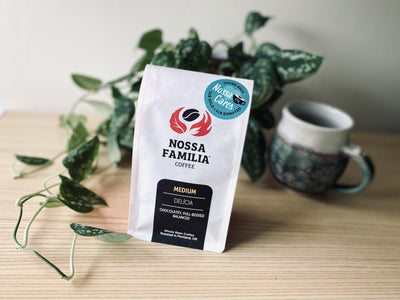 Introducing Nossa Cares: Delícia is Now a One-for-One Coffee
