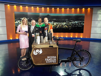 Nossa Familia's New Iced Coffee Cargo Bike