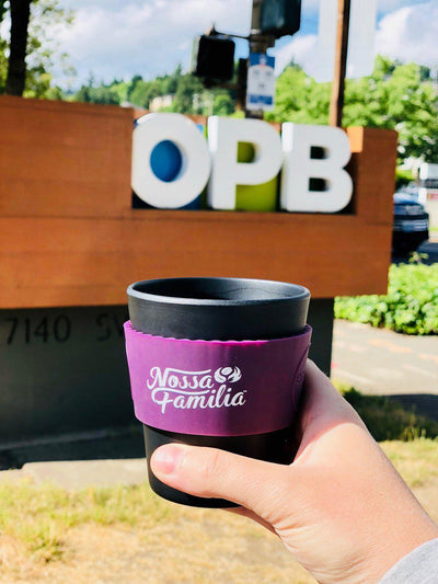 Nossa Familia on OPB's Think Out Loud Discussing To-Go Cup Upcharge
