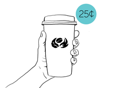 Disposable Cup Charge