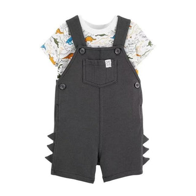2 Piece Romper Set - black / 6M-Height 60-65cm - newborn