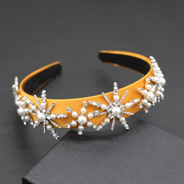 3D Pearls Headband - 1 - Hair Jewelry