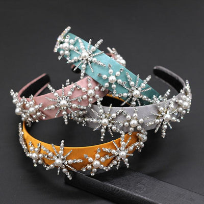 3D Pearls Headband - Hair Jewelry