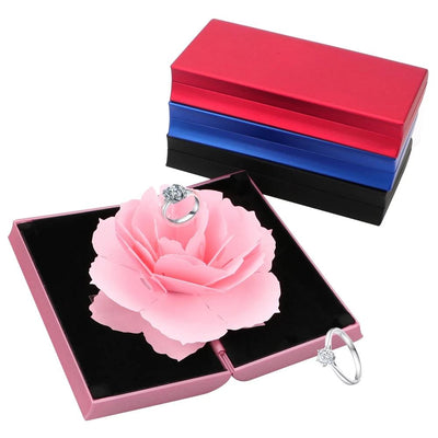 3D Rotating Jewelry Box - Ring Box